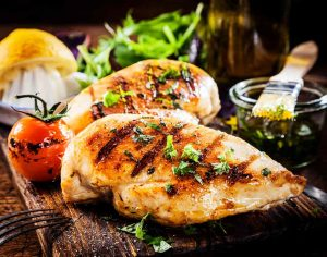 marinated poultry chicken grilled